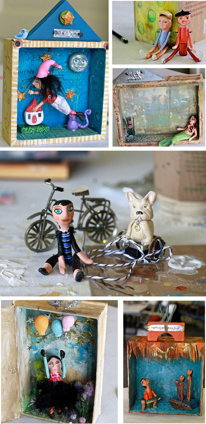 Artfest workshop dolls