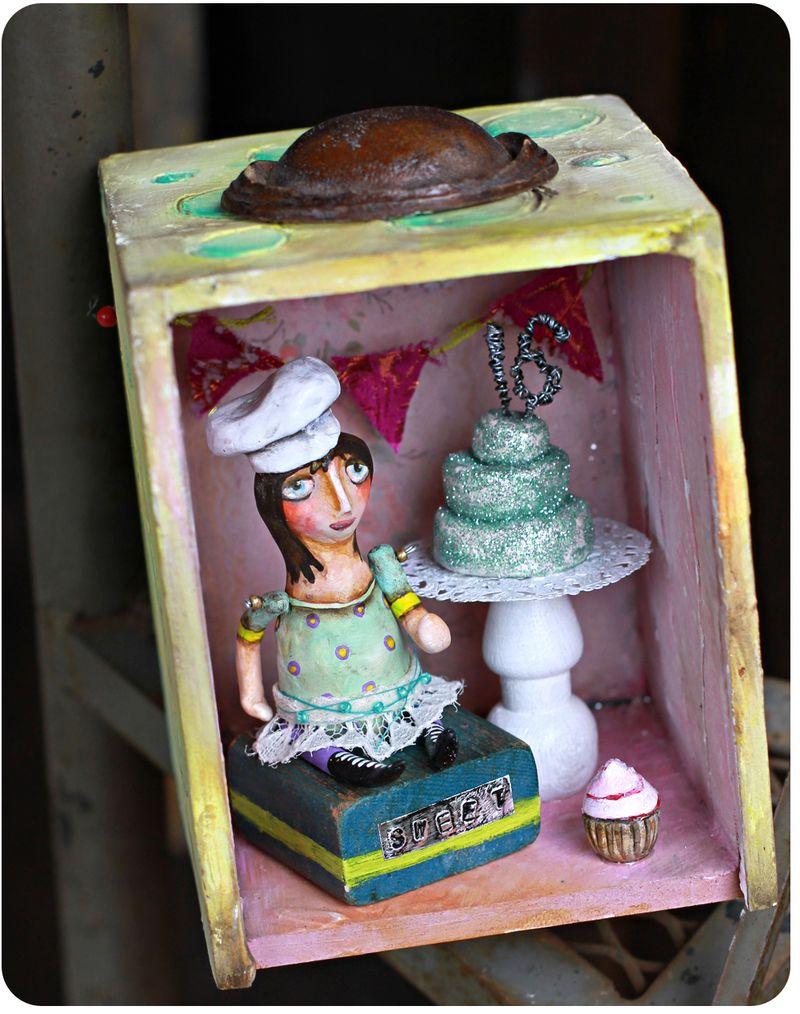 Story box handmade birthday