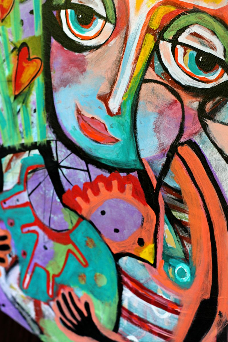 Colorful original art