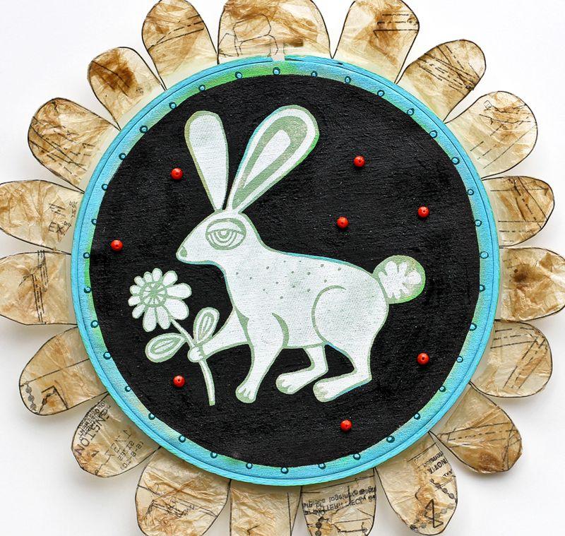 Bunny silkscreen