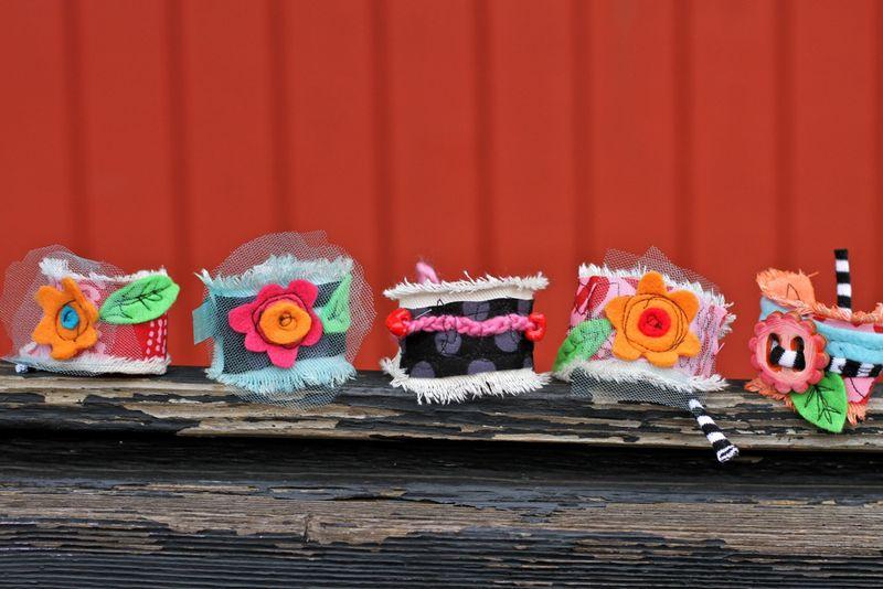 Colorful handmade gift