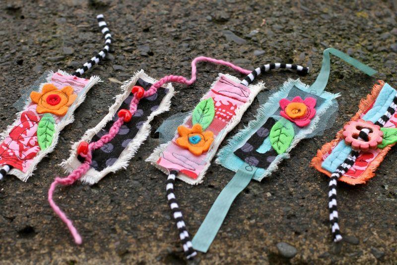 Flower handmade bracelets