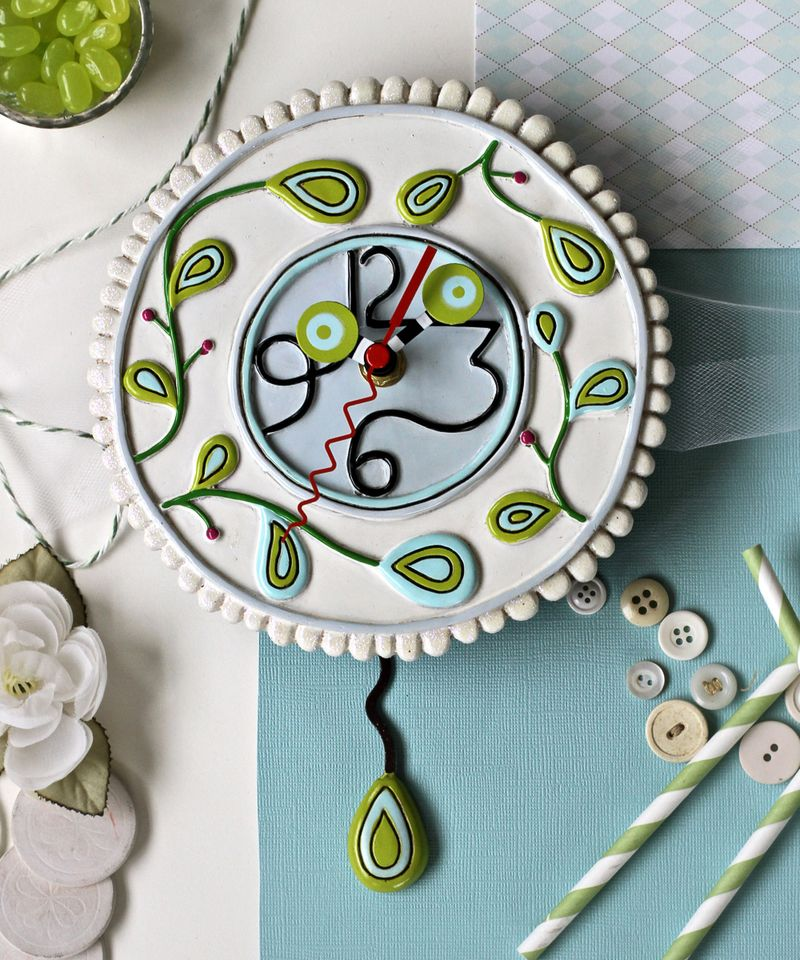Pretty whimsical clock