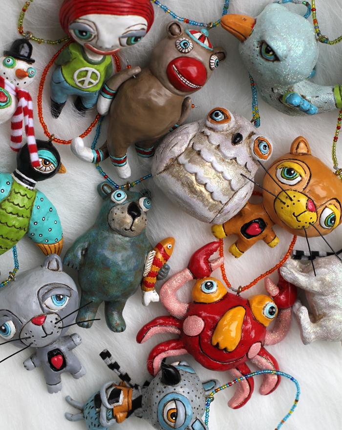 Allen designs whimsical ornaments creative