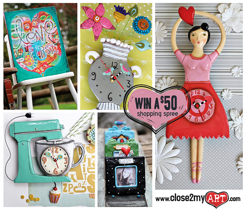 Allen clocks whimsical art gifts