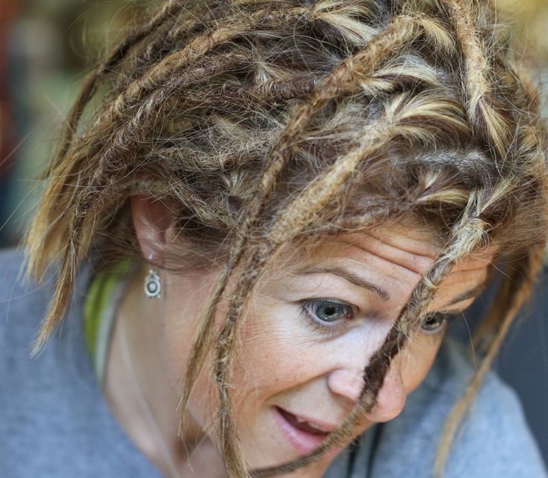 Crocheted dreads