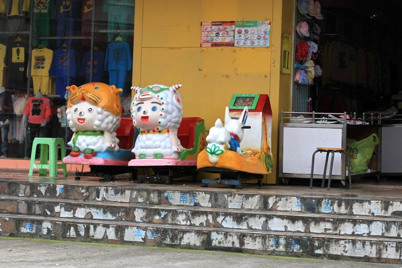 China sheep toys travel color