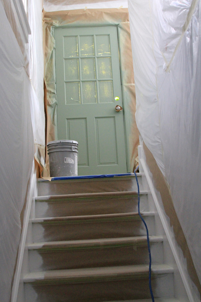 House remodel stairs