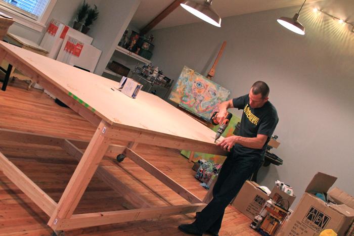 Art Studio Table Allen Designs