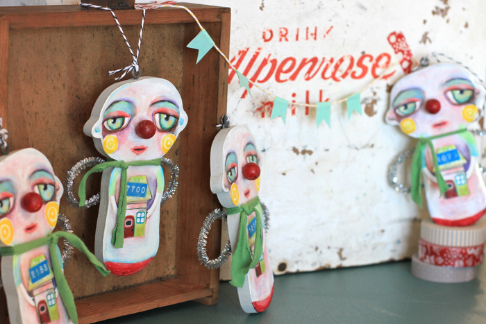 Unique ornaments collectible handmade art