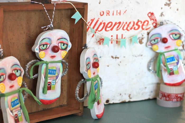 Unique ornaments collectible handmade art