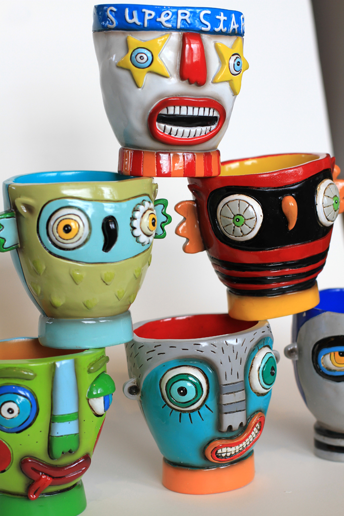 Allen designs pencil cups