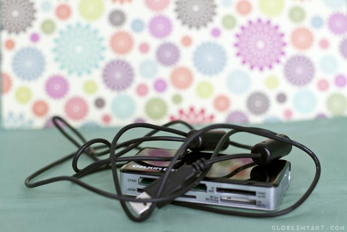 Unruly cord organization diy washi tape