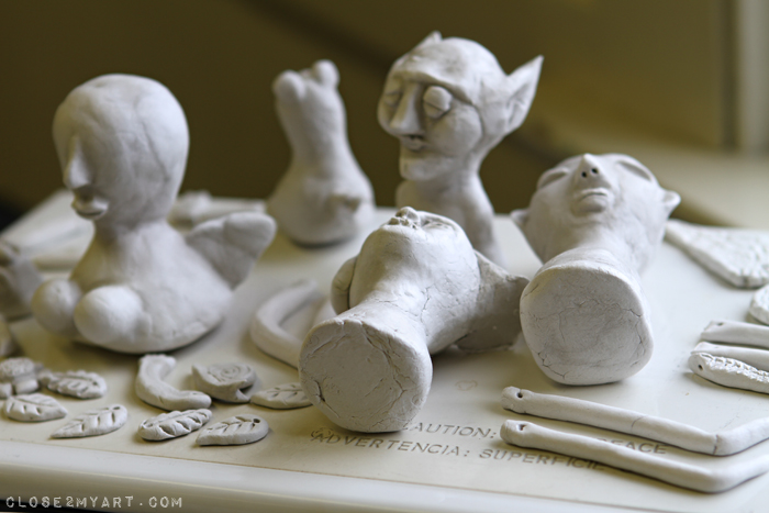 Das stone clay workshop michelle allen artist