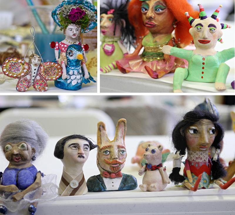 Artfest workshop doll making michelle allen