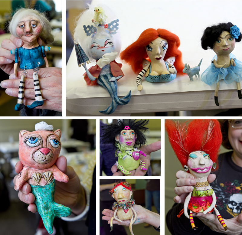 Doll making workshop how to art