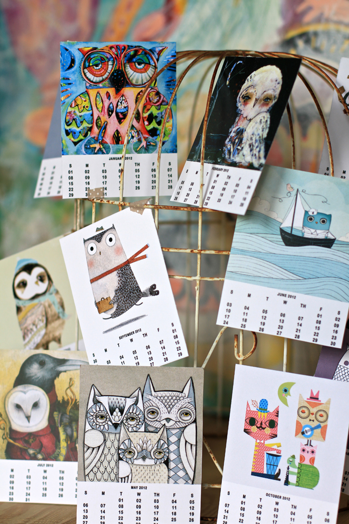 Free download calendar owl lover