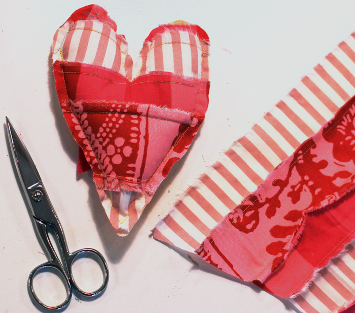 Heart sewing crafting valentines gifts