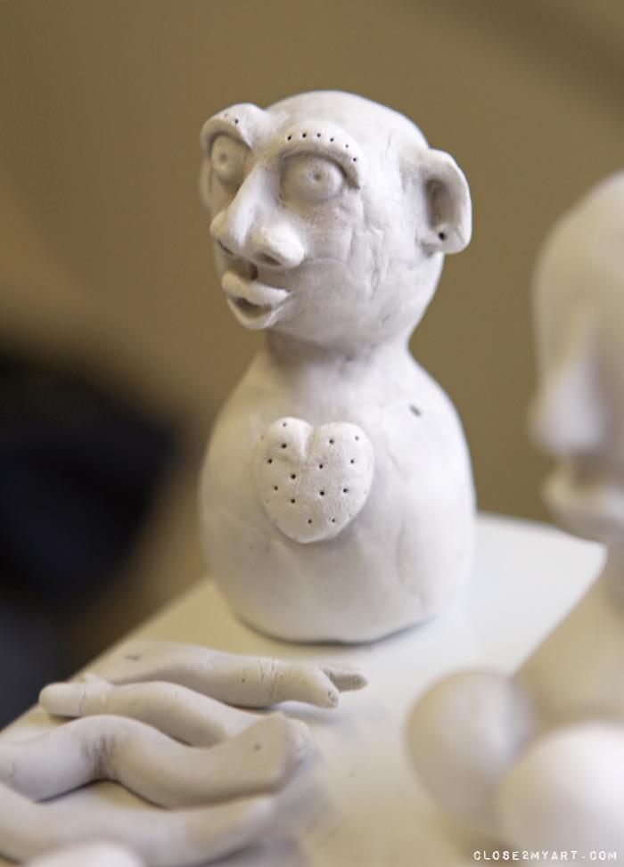 Artfest michelle allen workshop das stone clay