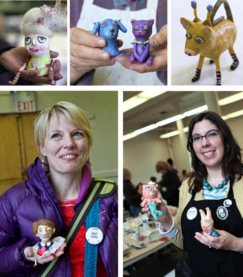 Art doll making workshop michelle allen