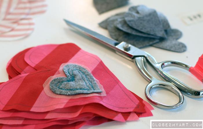 Valentines diy craft art gift original