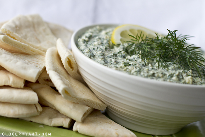 Spinich dip pita bread recipe