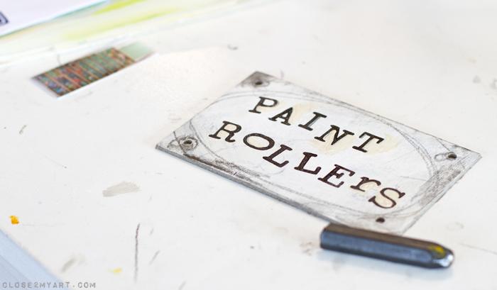 Labeling organizing baskets diy