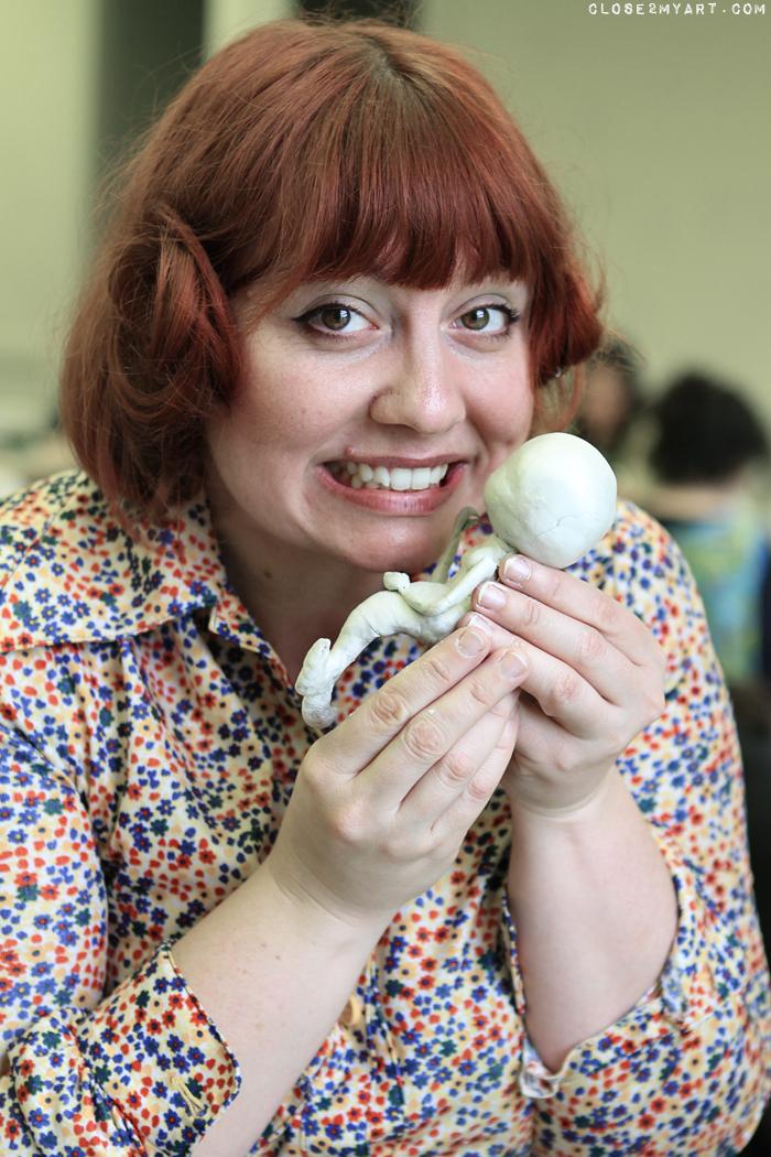 Miss mindy doll maker artist